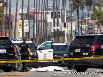Three dead, including suspect, in 'random' string of LA car shootings