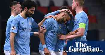 PSG 1-2 Manchester City: player ratings from the semi-final first leg