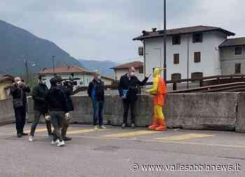 Bagolino Storo - I ponti di Ponte Caffaro finiscono a Striscia la notizia - Valle Sabbia News