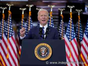 How to watch Biden's speech tonight on TV and what time is it
