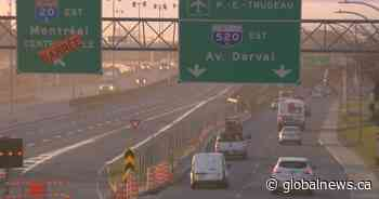 Highway 20 near Dorval Circle reopens to traffic after emergency closure - Global News