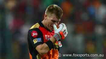 Warner blames himself as pressure mounts over strange IPL misfire