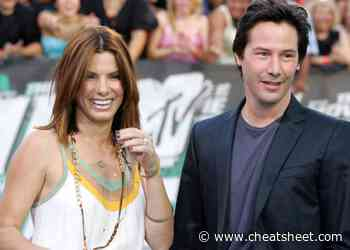 Keanu Reeves Admits To Having a Secret 'Crush' on Sandra Bullock - Showbiz Cheat Sheet