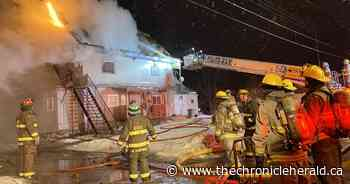 Multiple Kentville tenants displaced by early morning apartment fire | The Chronicle Herald - TheChronicleHerald.ca