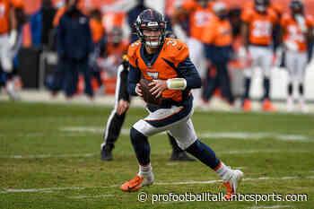 Broncos draft picks 2021: Full list of Denver's draft picks, order for every round
