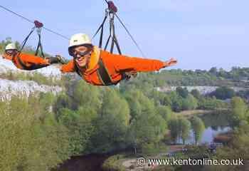 Country's biggest zipline opening delayed - Kent Online