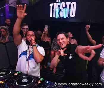 EDM DJ Tiesto to play The Vanguard next Saturday - Orlando Weekly