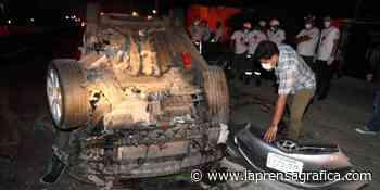 Joven lesionado luego de grave accidente en Quezaltepeque - La Prensa Grafica
