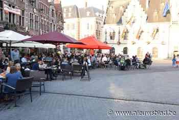 Stad laat tijdelijke terrasuitbreiding opnieuw toe (Dendermonde) - Het Nieuwsblad