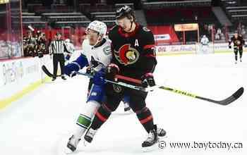 Brady Tkachuk records Gordie Howe hat trick as Senators down Canucks again