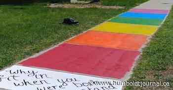 Nipawin refuses to give permission for rainbow sidewalk, citing safety concerns - Humboldt Journal