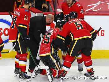 Flames defenceman Hanifin to undergo season-ending shoulder surgery - Nipawin Journal