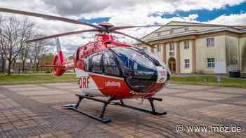 Notarzt-Einsatz: Rettungshubschrauber Christoph 49 bringt Arzt von Bad Saarow nach Beeskow - moz.de