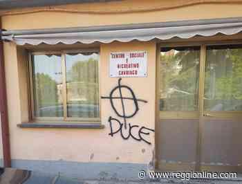 Cavriago si mobilita: denuncia contro ignoti per le scritte inneggianti al fascismo - Reggionline