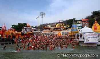 India covid news: 25,000 still gather for religious fest despite ravages of virus