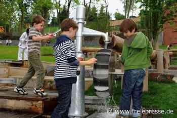 Wasserspielplatz wird im Vogtland zum Kindermagnet - Freie Presse
