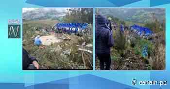 Reportan 20 fallecidos tras accidente de bus en Pomabamba - Canal N