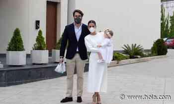 Elena Tablada y Javier Ungría: los detalles del bautizo de su hija - Hola
