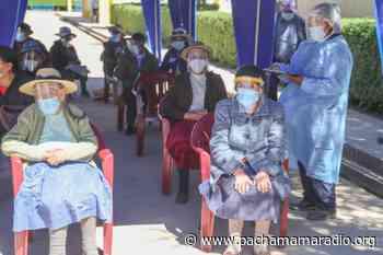Melgar: adultos mayores de 80 años de Ayaviri serán vacunados los días 29 y 30 de abril - Pachamama radio 850 AM