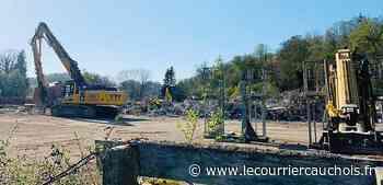 Pavilly. Après quatre mois de travaux, le collège Val Saint-Denis a été démoli - Le Courrier Cauchois