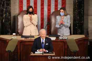 Biden speech - live: President calls deadly Capitol riot 'existential crisis' in joint address to Congress