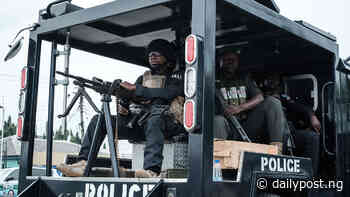 Oyo: Police arrest suspected armed robbers terrorising Ogbomoso residents - Daily Post Nigeria