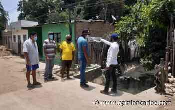 La alcaldía de Aracataca continua con el mantenimiento de los canales recolectores de aguas lluvias - Opinion Caribe