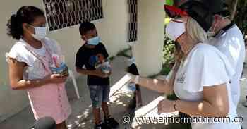 En Aracataca la celebración del Día del Niño y la Niña fue puerta a puerta - El Informador - Santa Marta