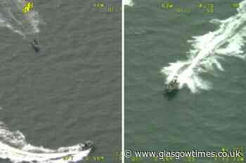 River Clyde boat chase: Greenock man told off by cops - Glasgow Times