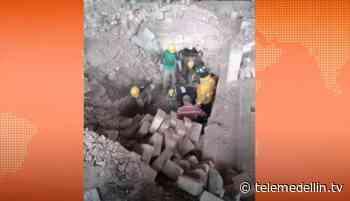 Mueren dos obreros tras colapso de estructura de ladrillera en Fredonia - Telemedellín