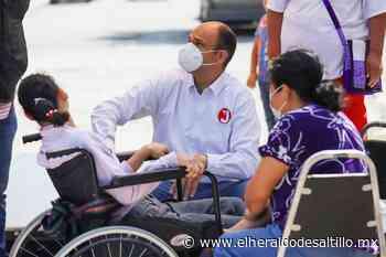 En Saltillo, Jericó Abramo buscará apoyar a más de 100 mil personas con discapacidad - El Heraldo de Saltillo