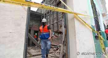 Barrios Altos: reportan caída de pared en casona del jirón Huanta - El Comercio Perú