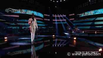 The Voice: Devan Blake Jones Sings Harry Styles Sign Of The Times - Yahoo Entertainment