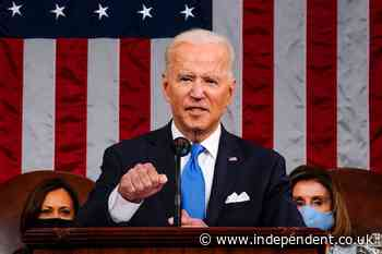 Eighty-five per cent of viewers approved of Biden's speech, poll shows