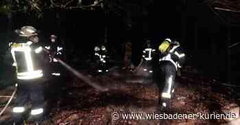 Oestrich-Winkel: Mann verletzt sich bei Löschversuch - Wiesbadener Kurier