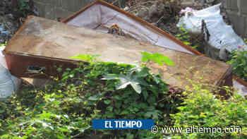 Saquean tumbas y queman cuerpos en cementerio de El Retén, Magdalena - El Tiempo