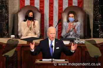 Biden's declaration: America's democracy 'is rising anew'