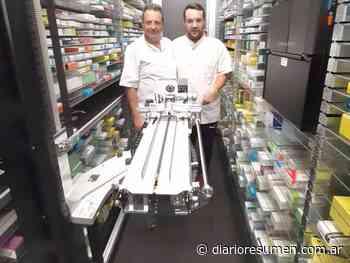 De Alemania a Del Viso: inteligencia artificial para la farmacia del futuro - Diario Resumen - El Diario de Pilar