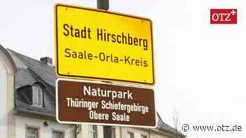 Hirschberg setzt künftig auf Verwaltung aus Tanna - Ostthüringer Zeitung