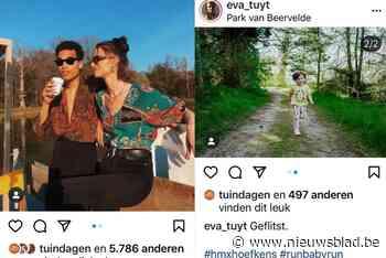 Influencers Kim Van Oncen en Lize Feryn… dobberen wél al in het Park van Beervelde - Het Nieuwsblad