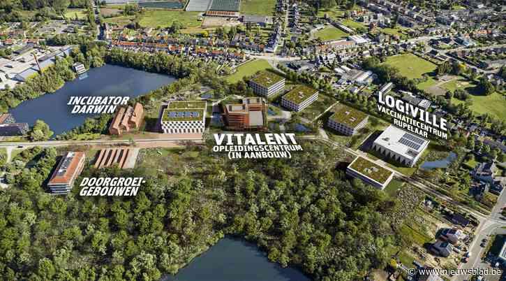 Wetenschapspark: vaccinatiecentrum, maar ook 'Silicon Valley aan de vijvers'