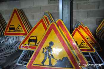 Cahors / Le Montat (RD 820, RD 659 et RD 47) : Réfection de la chaussée du giratoire des Sept ponts avec circulation modifiée la nuit - Medialot