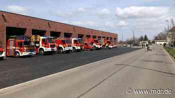 Feuerwehr in Arnstadt zieht in neues Gebäude - MDR