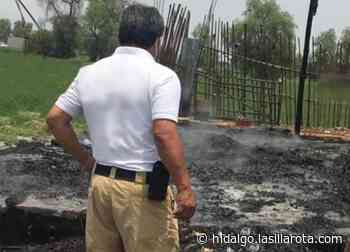 En Tlaxcoapan, hombre prende fuego a local de micheladas - La Silla Rota