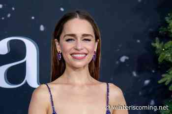 "Emilia Clarke put her ""entire heart and soul"" into her new comic book, and other news - Winter is Coming"