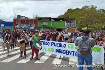 Paro Nacional transcurre pacificamente en Fusagasugá, Cundinamarca (Videos) - Noticias Día a Día