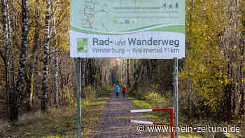 Vollsperrung eines Abschnittes: Am Rad- und Wanderweg Westerburg/Wallmerod wird gebaut - Rhein-Zeitung