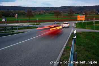 Straßenverkehrsbehörde will bei Teningen kein Limit auf Tempo 70 - Teningen - Badische Zeitung