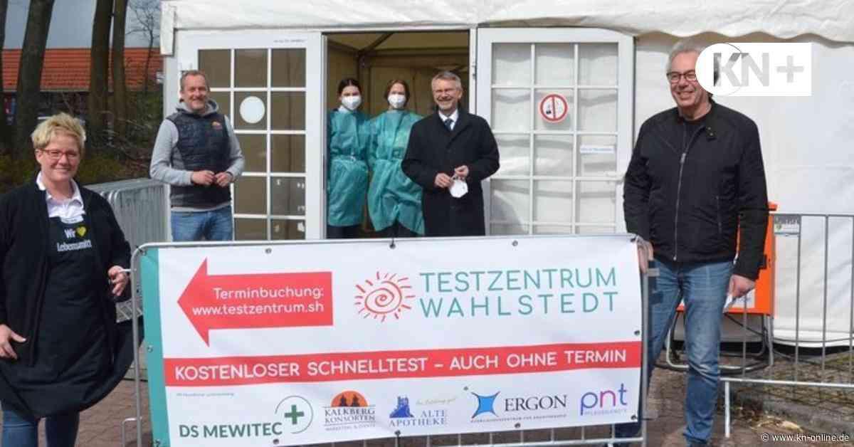 Neues Corona-Testzentrum öffnet in Wahlstedt auf dem Edeka-Parkplatz - Kieler Nachrichten