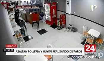 Huacho: joven frustró asalto en pollería pero acabó herido de bala   Panamericana TV - Panamericana Televisión